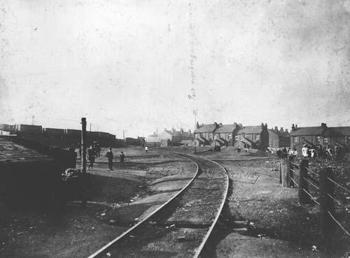 Railway and coal wharf, Smallthorne.