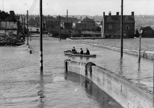 Floods at Ford Green