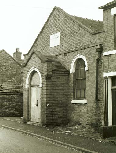 Primitive Street Methodist Chapel, Smallthorne