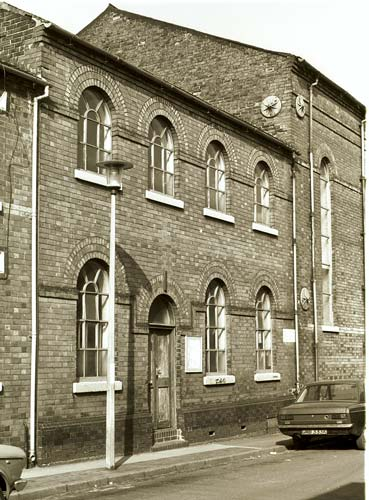 Sunday School, Regina Street in Smallthorne