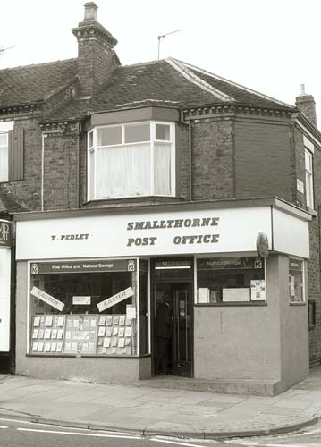 Smallthorne Post Office, 111 Ford Green Road,