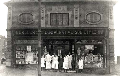 Burslem Co-operative Society in Smallthorne