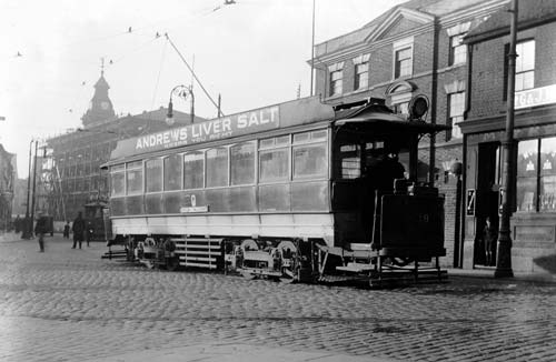 Electric Tramcar, Moorland Road, Burslem