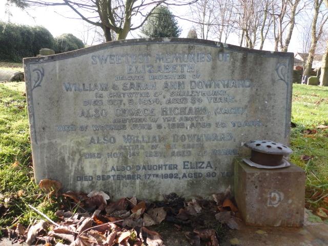 Private George Richard 'Jack' Downward