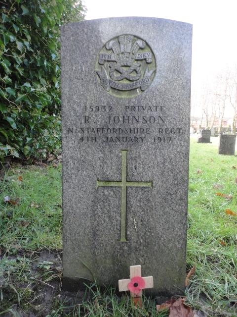 Private R Johnson