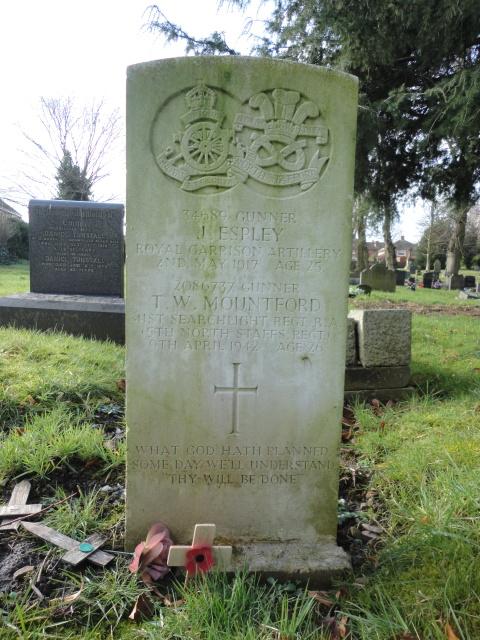 Gunner Thomas William Mountford