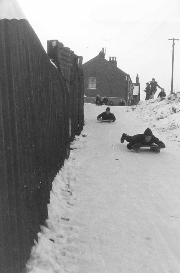 Sledging Down the Brickle