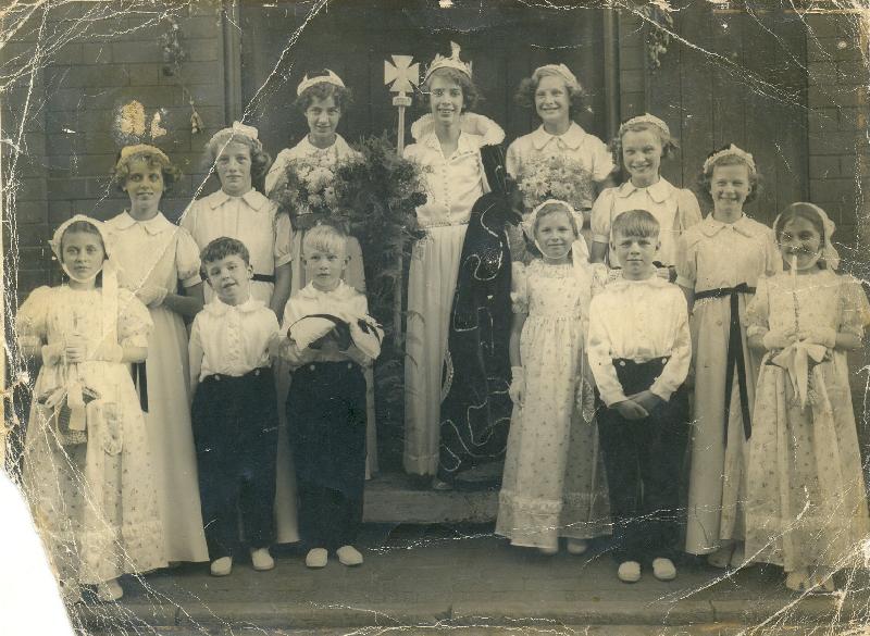 Carnival Queen in 1952