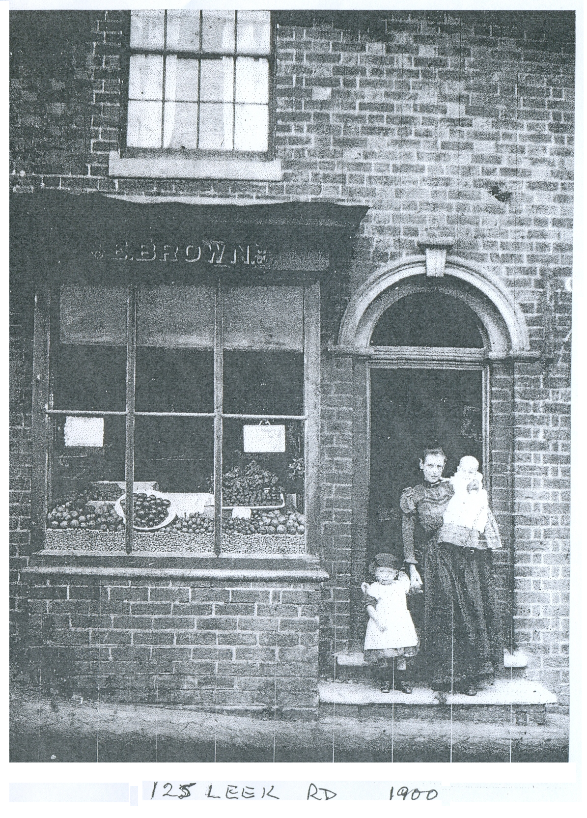 Historic Leek Road Shops (Ford Green Road)