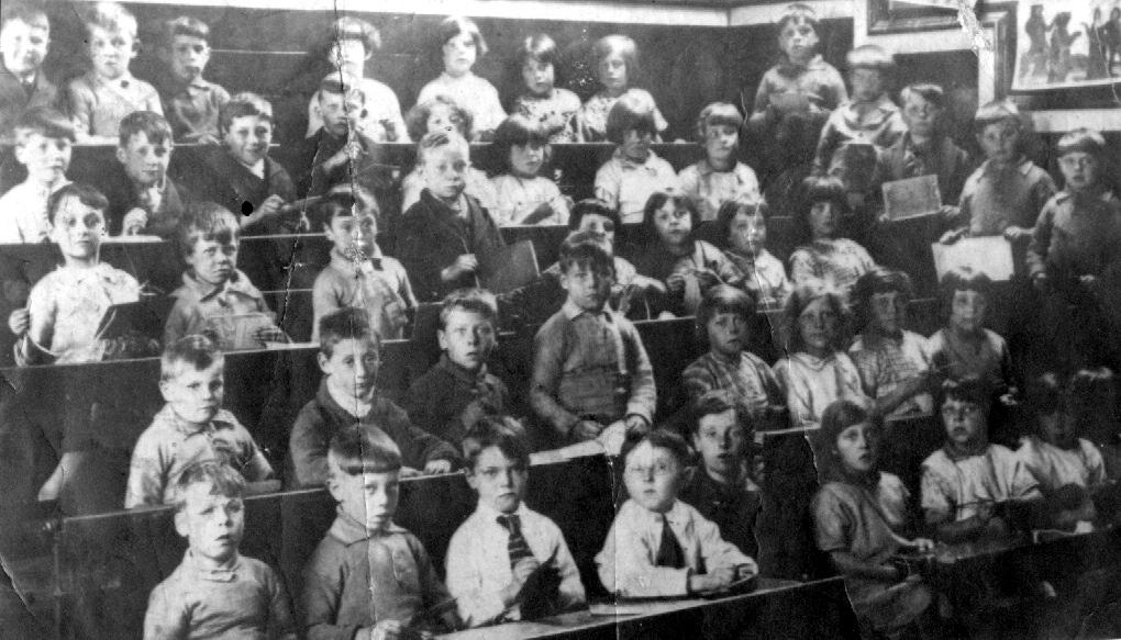 school class cobridge 1928