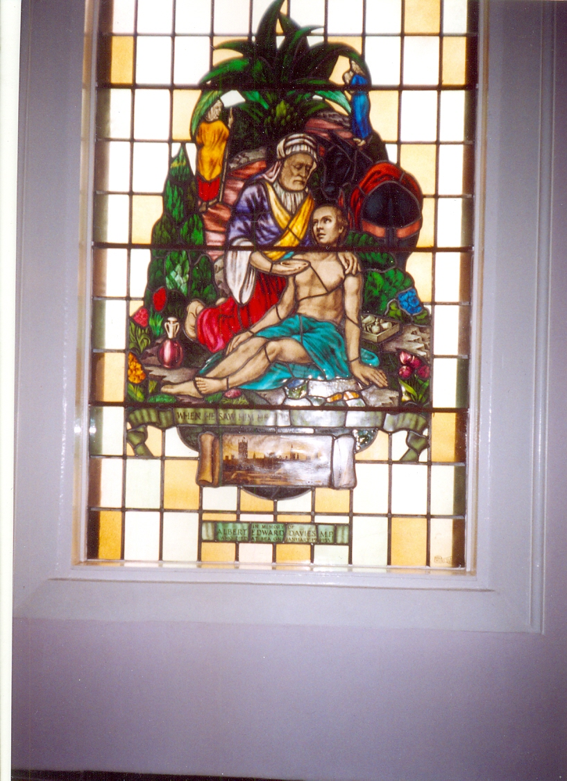 Albert Edward Davies Stained Glass Window