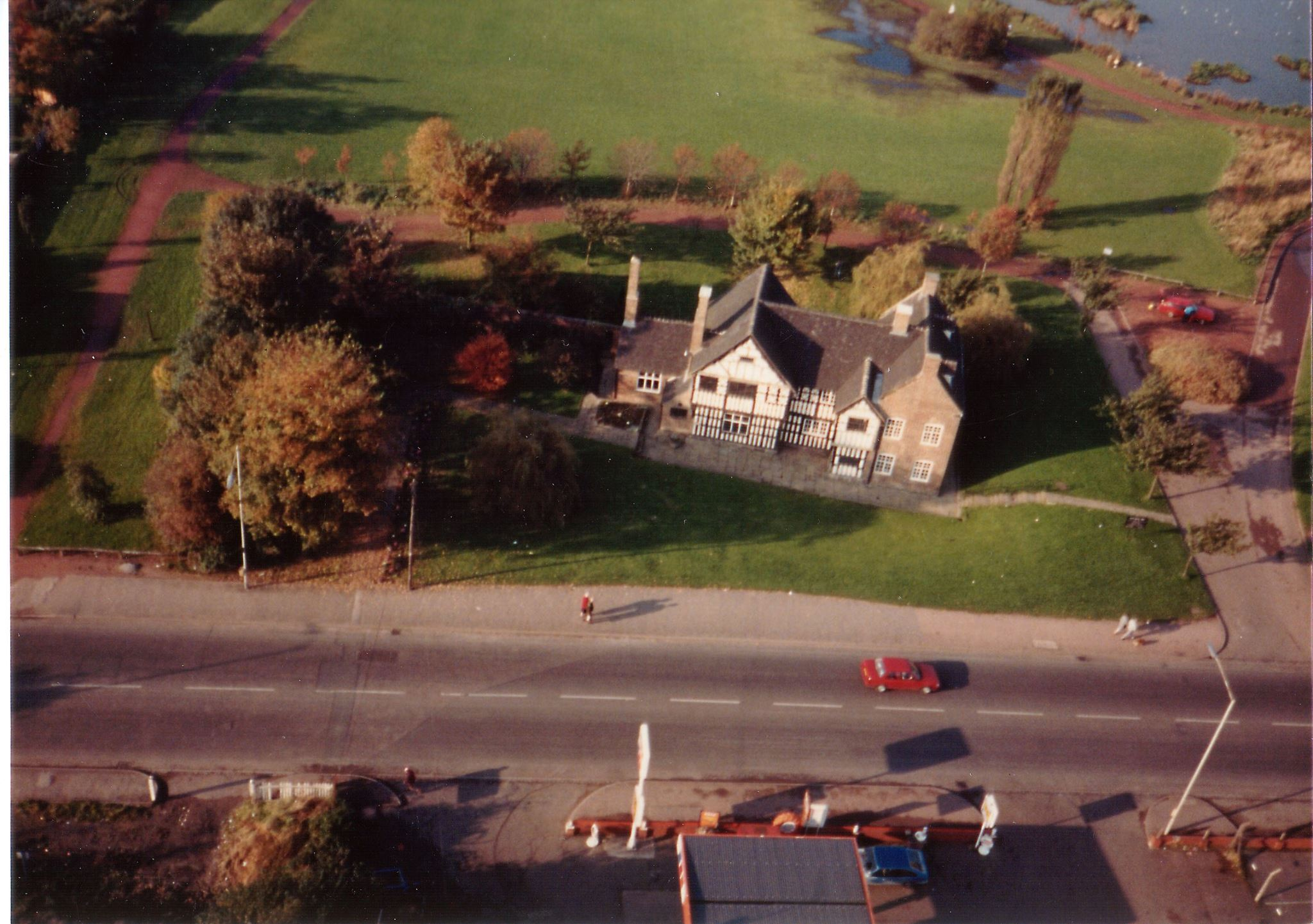 Aerial Photographs of Ford Green & Bradeley