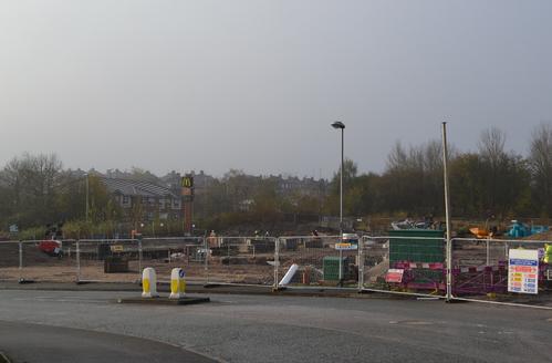 McDonalds Norton Heights Construction 2014