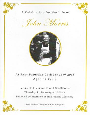 Johnny Morris Memorial