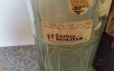 F F Graham Pharmacy, Smallthorne –  A potted history