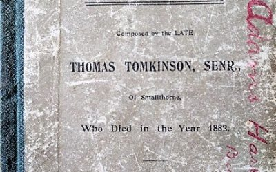 Who is Thomas Tomkinson – The Original Smallthorne Poet?