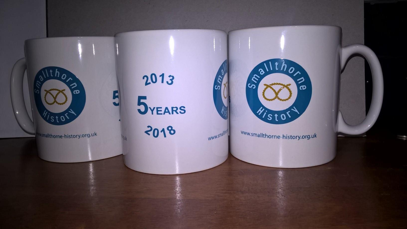5 Year Anniversary Mugs