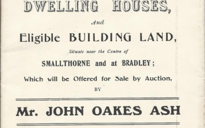 Auction Brochure from 1909